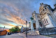 Montmartre / charming streets & squares of Montmartre + Sacred Heart Basilica