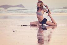 Yoga, namaste. / YOGA
