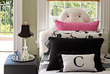 Pillows in the bedroom