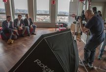 Backstage / Behind Aldo Sodoma Photography