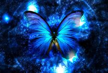 """Vibrant Blue Notes / """"It's not what you look at that matters. It's what you see."""" Theroux    / by ~*Mary Davidge*~"""