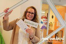 Gaafkaartje.nl / De leukste geboortekaartjes. Een samenwerking tussen Marjolein en Debora