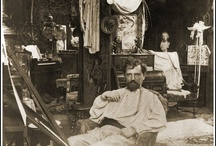 Art: Alphonse Mucha / Alfons Maria Mucha (24 July 1860 – 14 July 1939), known in English and French as Alphonse Mucha, was a Czech Art Nouveau painter and decorative artist, known best for his distinct style. He produced many paintings, illustrations, advertisements, postcards, and designs.