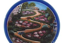 San Francisco Ornaments / Hand Painted Ornaments featuring the beautiful sights and scene of San Francisco