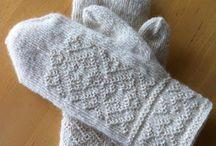 Needlebinding (nålebinding) / Twinned knitting (tvebinding )