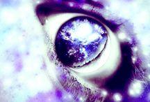 Eye violet,pink