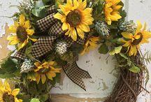 Wreath ideas for grammy