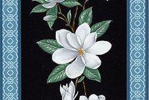 Декупаж-цветы