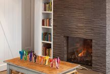Fireplaces / Living room and bedroom fireplace surrounds