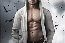 """Stock Photos - The Hoodie Hottie / A lot of book covers use stock photography.  But that can lead to overuse of a particular image.  This image, we've named him the """"hoodie hottie,"""" is used on lots of book covers.  It amuses us.  Do you know of any more?  Please tell me so I can add it to the list!"""
