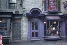 Harry Potter doors / Simpson doors used in the Wizarding World of Harry Pottter™ theme park, Orlando, Florida. / by Simpson Door Company