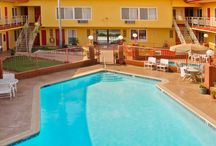 Best Value Inn Anaheim  / Affordable family-friendly hotel located within one block of the world-famous Disneyland Park. We are just minutes away from Orange County's famously beautiful beaches in Huntington, Newport and Laguna Beach. If a sporting event is on your list of things to do, we're located just a short distance from the Honda Center where you'll find the Mighty Ducks hitting the ice, and Edison Field, where the Anaheim Angels hit the balls clear out of the park. / by Best Value Inn Anaheim