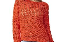 Casaquetos, cardigans, blusas mangas longas crochet e tricot