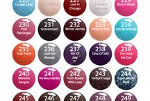 dipping color powders SNS