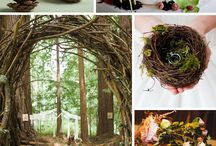 forest weddings theme receptions