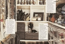 Organize / creative ways to organize our belongings