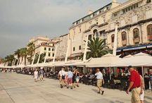 Split / Split, Stadt in Dalmatien, Kroatien