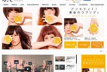 GIRLS BAND / WEB DESIGN / GIRLS BAND / WEB DESIGN