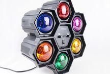 Oświetlenie dyskotekowe / Efekty LEDowe, żarówkowe, reflektory, oświetlenie sceny i zewnętrzne...