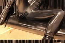 latex, rubber, hoods