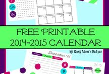 Mommy Planners, Lists and Printables / I am addicted to planners and lists! Planner ideas and organization posts, as well as printables I've found that are super cute and free. I can't get enough of this stuff!