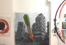 Helping by Bombing / Art, sculpture