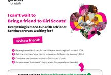 Volunteering with GSU / by Girl Scouts of Utah