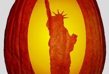 Americana Pumpkin Carving Patterns