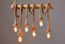Cordas na decoração / Coloridas e resistentes, as cordas sustentam prateleiras, camas, balanços e podem ser usadas até como divisórias!