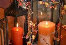 Halloween dekorationer