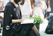 Japan woman fashion style