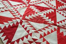 Quilts---Red & White / by Sue Dodge