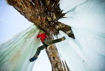 Ice Climbing / Ice Climbing, especially Ice Climbing in the Northeast.
