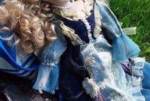 rare masterpiece Dolls blonde with blue eye