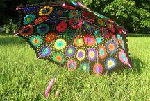 Crochet - Umbrellas