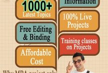 MBA PROJECT AT VLTECH / In the curriculum of obtaining any award of degree, the students are required to undertake a major individual piece of research work – the Project or Dissertation.