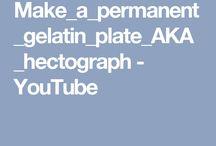 gelatin plate recipe