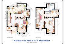 Planos casas famosas