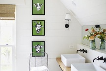 Bathrooms / by Huckleberry Love