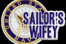 My life as a Navy Wife / If you are Navy then check out my support page :) https://www.facebook.com/asailordelight?ref=hl / by April McHugh