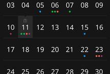 Mobile - Calendar