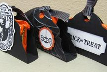 Treat Holders / Boxes and bags to hold candy / by Marcia Boz