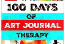 100art therapy ideas