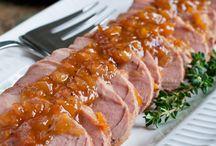 dinner pork / by Wendy Nicholson-Scalph