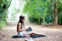 inspiração para fotos com livros
