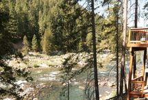 River Front Vacations / Great places to stay in Leavenworth with river-front access