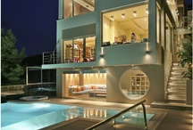 Home Exterior Design / I'd definitely want something along the lines of these home designs for my future home! :)