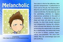 Melancholic / Earth temperament