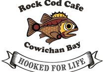 Rock Cod Cafe / Where Cow Bay Comes to Eat BIG seafood! Experience Their Celiac-Friendly Menu in the heart of Cowichan Bay