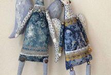 Куклы синие